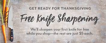 Sur La Table Coupon Code Sur La Table Free Knife Sharpening And More Chicago On The Cheap