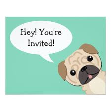 pug birthday cards greeting u0026 photo cards zazzle