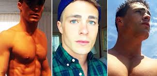 go colton wolf colton haynes comes out as with a