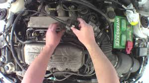 changing fuel injectors 1999 ford escort youtube