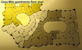 casa batllo floor plan casa mila apartments floor plan picture of casa mila la pedrera