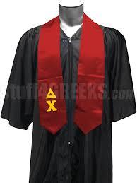 cheap graduation stoles delta chi satin graduation stole with letters
