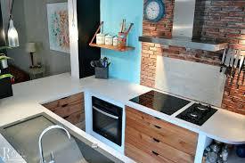 cuisine ouverte surface amenagement surface une cuisine ouverte au look