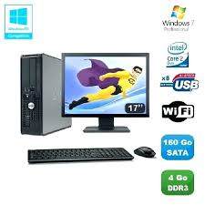 ordinateur de bureau dell pas cher ordinateurs de bureau pas cher dell optiplex 790 desktop ecran 19
