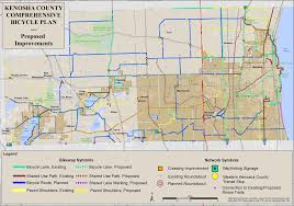 Kenosha Wisconsin Map by Bicycle Facilities Planning Kenosha County Wi Official Website