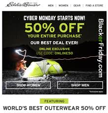 eddie bauer cyber monday 2017 deals sale cyber week 2017