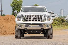 nissan titan rear bumper replacement 20 inch dual row cree led bumper kit for 16 17 nissan titan xd