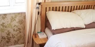 clip on bed hanging shelf