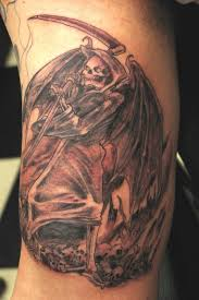 tattoo art angel of death tattoos examples and ideas