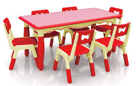 kids plastic table and chairs new height adjustable children plastic table kindergarten