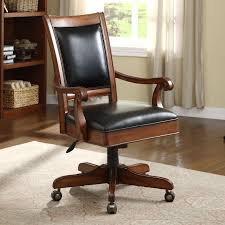 Leather Executive Desk Chair Bright Idea Wooden Desk Chair Joshua And Tammy
