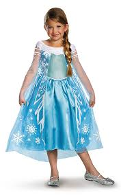 amazon com disney u0027s frozen elsa deluxe u0027s costume 4 6x toys