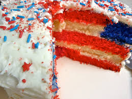Dessert Flags Diary Of A Mad Hausfrau Us Flag Cake U0026 Cupcakes And Back To America