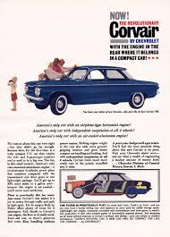 automotive history 1960 1963 chevrolet corvair u2013 gm u0027s deadliest sin