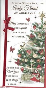 sister christmas card with love to a special sister happy