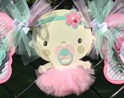 tutu centerpieces for baby shower tutu banner tutu baby shower baby shower banner it s a
