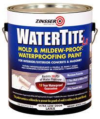 watertite lx mold u0026 mildew proof waterproofing paint at menards