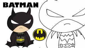 how to draw batman easy and step by step youtube