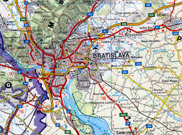 Slovakia Map Travel To Bratislava Travel Maps To Bratislava Slovakia