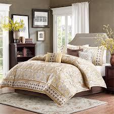 Gold Bed Set Sabelle Gold Bed Comforter Set Home Apparel