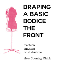 draping the basic bodice drafting front bodice sloper