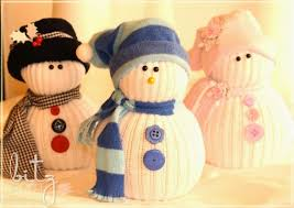 15 creative tutorials for making sock snowmen