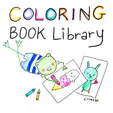 coloring book library pdf instant download 150 pages of