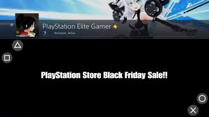 playstation store black friday sale 11221016