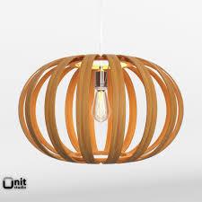 west elm ceiling light bentwood pendant oblong by west elm 3d model cgtrader