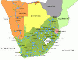 Map Of Countries In Africa by Detailed Highways Map Of South Africa South Africa Detailed