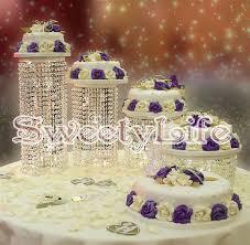 wedding cake display 4pcs set wedding cake stand wedding centerpiece wedding