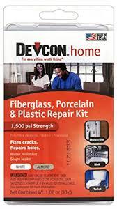 devcon epoxy bathtub repair kit almond white home