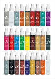 colorful tints organic temporary color hair spray 30ml 27 colors