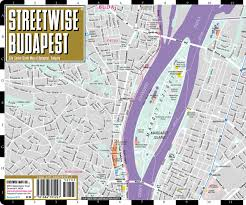 Map Of Budapest Streetwise Budapest Map Laminated City Center Street Map Of