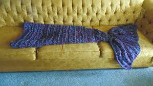 cozy mermaid tail blanket children u0027s items crochetville