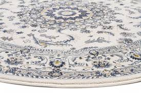 White Round Rug by Palace 22 White White Round Rug Catwalk Rugs