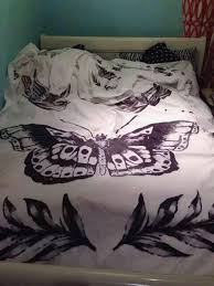 home accessory butterfly bedroom bedding bedding