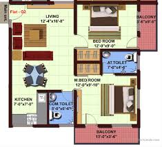 Floor Plans For 2 Bedroom Granny Flats 2 Bedroom Apartmenthouse Plans Flat Roof House Modern Two