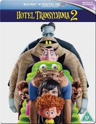 hotel transylvania 2 steelbook edition blu ray zavvi