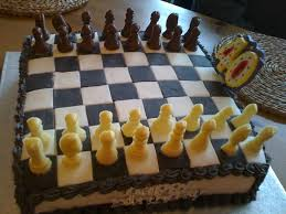 looks like a cake for a 40 year old chess lover birthday cakes
