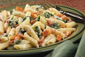 creamy pasta with salmon and spinach salmon recipes bumble bee