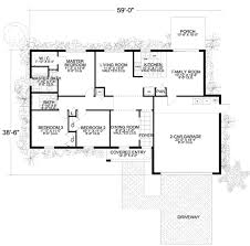 mediterranean style house plan 3 beds 2 00 baths 1400 sq ft plan