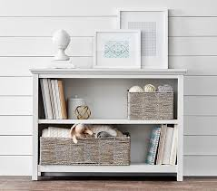 kids bookcase design black and white stained wall white wooden
