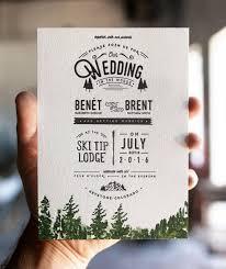 Inexpensive Wedding Programs Best 25 Mountain Wedding Invitations Ideas On Pinterest Outdoor