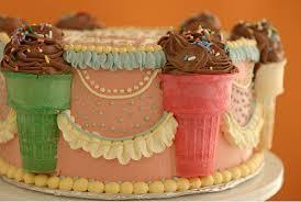 ice cream cone cake hawaii kawaii blog