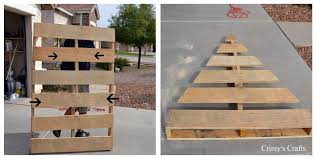 pallet christmas tree s crafts pallet christmas tree