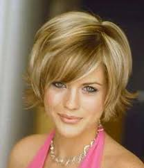 pictures of short layered hairstyles that flip out a bob style haircut with the ends that flip out away from the face