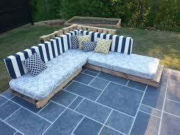 Pallet Patio Furniture Cushions Pallet Sofa 5 Steps
