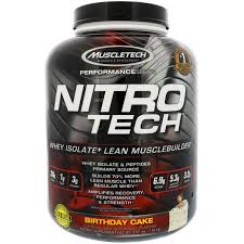 birthday cake drink muscletech nitro tech whey isolate lean musclebuilder birthday
