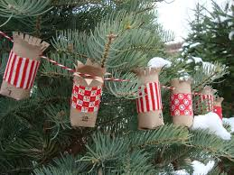 festive diy christmas crafts from toilet paper rolls
